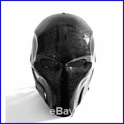 100% Carbon Fiber Mask Comics Cosplay Props Deathstroke Terminator Helmet Mask