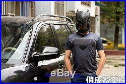 11 BreToys Batman VS Super Man Wearable Armored Batman Helmet Life Size New