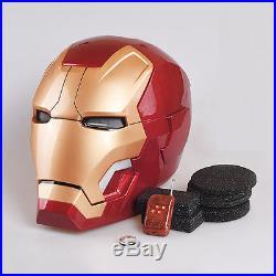 11 Iron Man Captain America Helm Helmet Maske Mask Leucht Figur cosplay Kostüme