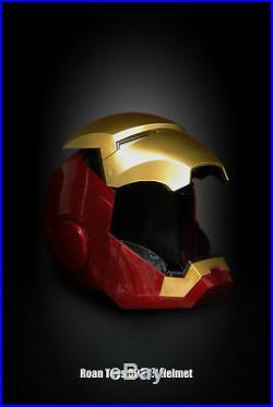 11 Iron Man MK7 Helmet Cosplay Roan Wearable Open Close Figure Collection