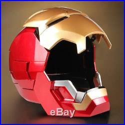 11 Iron Man MK7 Helmet Cosplay Roan Wearable Open Close Figure Collection