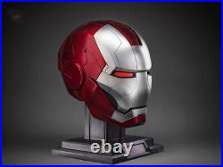 11 Wearable AutoKing Iron Man MK5 Helmet Voice-controlled Remote Control Mask