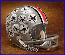 1968 NATIONAL CHAMPIONS OHIO STATE BUCKEYES Authentic GAMEDAY Football Helmet