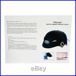 64/128 Diodes Laser Cap Hair Loss Regrowth/Growth Treat Helmet Alopecia Therapy