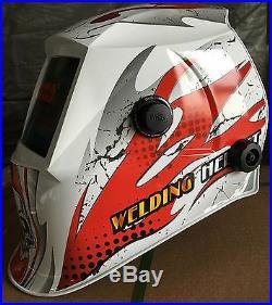 ABS certified mask Auto Darkening Welding Helmet+Grinding hood ABS