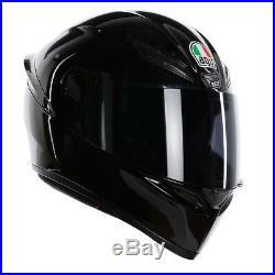 AGV K1 Gloss Black Motorbike Helmet