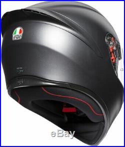 AGV K1 Sport Helmet (Matte Black) ML (Medium-Large)
