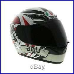 AGV K3 Full Face Motorbike Motorcycle Street Helmet Replica Rider To The Bone