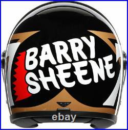 AGV Legends X3000 Barry Sheene Replica Helmet (Black/Gold) Medium-Large