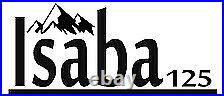 AJS ISABA 125 Brand New Adventure Scrambler With Free Helmet Worth £100 IN STOCK