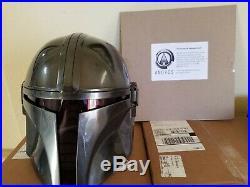 ANOVOS disney Star Wars The Mandalorian Wearable Helmet 11 Scale Prop Replica