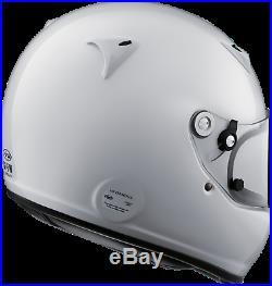 ARAI Auto Racing Helmet, GP-5W White (SM), FIA-8859/Snell-SA2010 NOS F/S