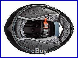 ATO Montreal Klapphelm Doppelvisier Schwarz matt XL ECE 2205 Motorradhelm Helm