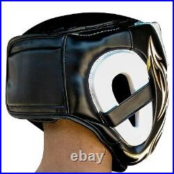 Adult Head Guard Helmet Boxing Martial Arts Kick Training Gear MMA Protector