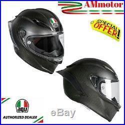 Agv Gp R Pista Matt Carbon Rossi Helmet Size MS 57 58 Motorcycle Full Face