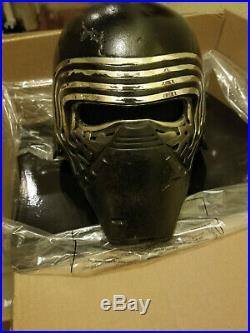 Anovos Star Wars KYLO REN Premium Helmet prop replica brand new sealed box