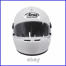 Arai GP-5K with HANS anchors White XS SA2005 Car Racing Helmet