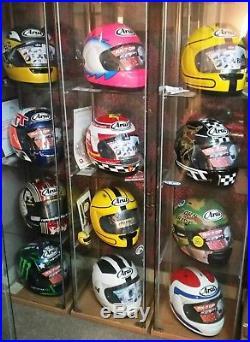 Arai TT helmet, joey dunlop helmet, Steve Hislop helmet, Arai Limited edition