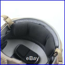 Aramid Fiber Bullet Proof Ballistic IIIA Helmet Maritime OPS L/XL DE Color