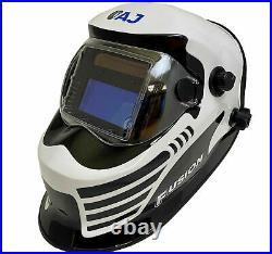 Autojack Gasless MIG Welder 130 Amp 230V with Auto Darkening Lens Welding Helmet