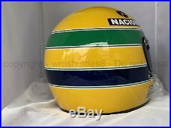 Ayrton Senna 1988 World Champion F1 Replica Helmet Full Size Helm Casque