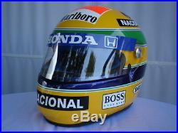 Ayrton Senna 1992 F1 Replica Helmet Full Size Helm Casque Casco