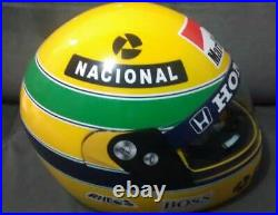 Ayrton Senna Helmet Replica 11 Scale 1991 Full Size F1 Helm- Pro Tork