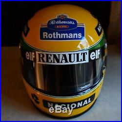 Ayrton Senna's Helmet painted by Sid Mosca, numbered Edition