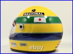 Ayrton senna helmet year 1992 F1 GP JAPAN replica full size Never used Ayrton