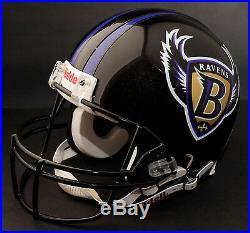 BALTIMORE RAVENS 1996-1998 NFL Riddell FULL SIZE Replica Football Helmet