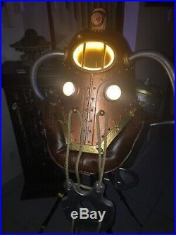 BIOSHOCK COMICON Subject Delta Big Daddy Helmet New Update