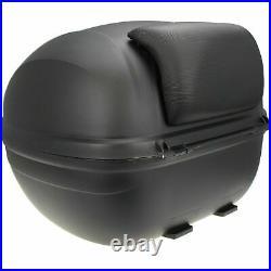 Back Storage Helmet Motorcycle Top Box Universal storage 32L Backrest Bike