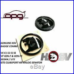 Badge Hsv Helmet Lion & Helmet Ve E1 E2 E3 Gts Clubsport R8 Boot & Bonnet Sedan