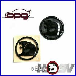 Badge Hsv Helmet Lion & Helmet Ve E1 E2 E3 Gts Senator Boot & Bonnet Sed Black