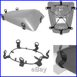 Bagster Spider Rear Tail Pack / Seat Bag / Helmet bag expands 15ltr 23ltr