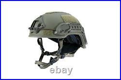 Ballistic helmet ARCH high cut NIJ level 3a, V50 & EN397 certified L&XL