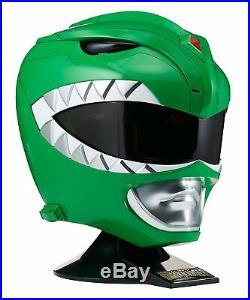Bandai Power Rangers LEGACY GREEN RANGER HELMET PROP REPLICA NEW IN STOCK