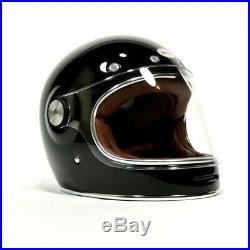 Bell Bullitt DOT Motorcycle Helmet Gloss Black