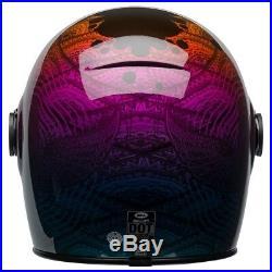 Bell Bullitt Motorcycle Helmet Hart Luck Bubbles