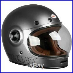 Bell Bullitt Motorcycle Helmet Matt Metallic Titanium