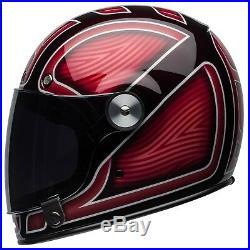 Bell Bullitt Motorcycle Helmet RYDER GLOSS RED ALL SIZES