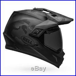 Bell MX-9 Adventure MIPS Stealth Matte Black Camo Motorcycle Helmet