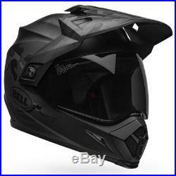 Bell MX-9 Adventure Mips Stealth Matt Black Camo Motorcycle Motorbike Helmet