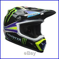 Bell Mx-9 Mips Motocross MX Bike Helmet Pro Circuit Monster Green