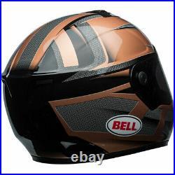 Bell SRT Motorbike Motorcycle Helmet Predator Copper / Black