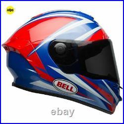 Bell Star Mips Torsion Red/blue Motorcycle Helmet Medium