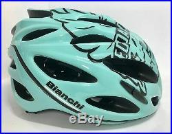 Bianchi 2020 Shot Helmet Celeste