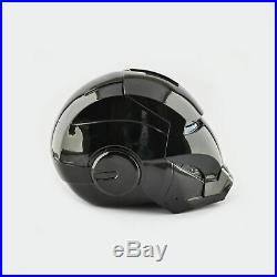 Black Iron Man Durable Plastic Made Fit Helmet / Ironman Cosplay Comfort mask
