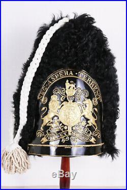 British Grenadier Guards Fur Skin Cap Mutz Busby 1790 Military Headdress Helmet