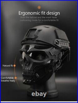 Bullet Proof Skull Mask Lightweight Tactical helmet